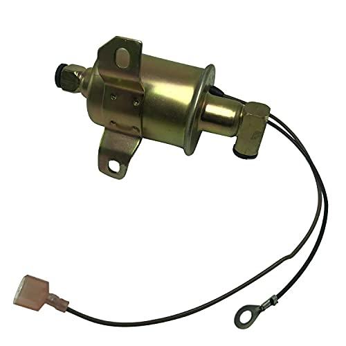 HUANDE Bombas de combustible Bomba de combustible E11009 12V para Onan Cummins RV Generador Reemplaza Onan 149-2331-02 Cummins A047N923 A029F891