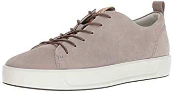 ECCO Men s Soft 8 Tie Fashion Sneaker Moon Rock 11-11.5