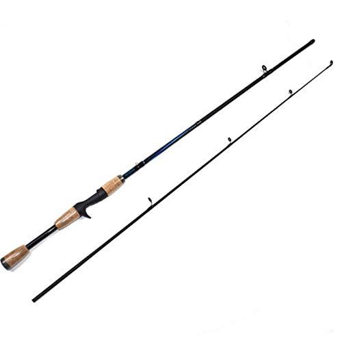 WUHUAROU Caña De Pescar Giratoria 1,8 M 2-20g Peso del Señuelo Pesca De Carbono Ultraligero Fundición Ultraligero Carpa Surf Cañas De Pescar Y Carrete (Color : Casting)