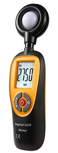 Komerci HT-92 Luxmeter, Beleuchtungsmesser bis 200.000 Lux, Autorange, Max/Min Beleuchtungsmessgerät