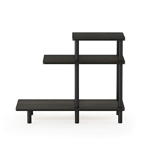 Furinno Side Tables, Wood, Espresso/Black, one size