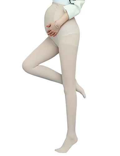 Ecroon Damen Strumpfe & Strumpfhosen Opaque Umstandsstrumpfhose Unterstutzung Leggings Mutterschaft Hose fur alle Phasen der Schwangerschaft Feinstrumpfhose 200 DEN