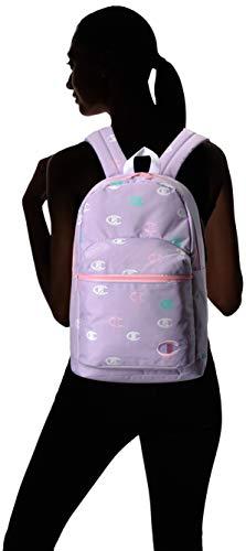 Champion Girls' Big Supercize Backpack, Lavender, Youth Size