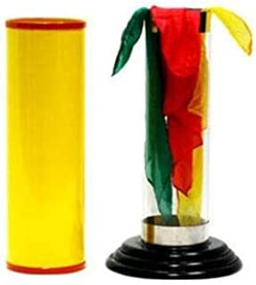 BeesClover The Crystal Silk Cylinder by Duane Laflin & Marty Hahne-Magic Tricks Show One Size