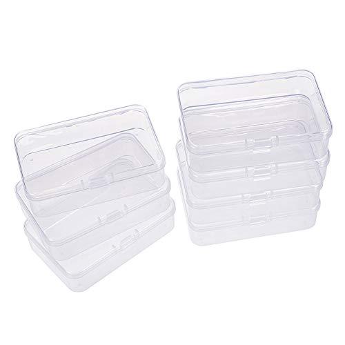 BENECREAT 12 Pack Caja de Almacenamiento de Cuentas de plastico con Tapas...