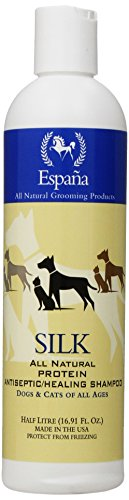 Espana Silk ESP0115DC Specially Formulated Silk Protein Antiseptic Shampoo for Dogs and Cats, 16.91-Ounce