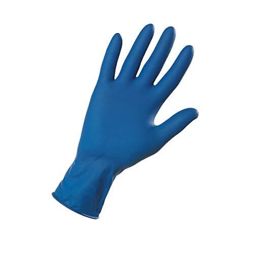 Fercolor Guanti Blu in Lattice Spessorati 0.30 MM HI-RISKS (conf. 50 pz) (1, XL)