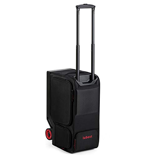 Rideable Electric Suitcase with Detachable Battery Support USB Device Charging Perfect for Travel