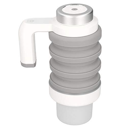 Taza calefactora de Coche de 550 ml y 12 V, hervidor eléctr