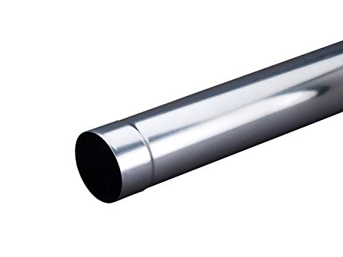 Fallrohr 1 m lang Titanzink 100 mm oder 80 mm (100 mm)