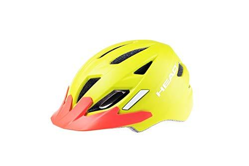 Head Bike helm Kid Y11 In-Mould, fiets unisex kinderen, oranje, medium