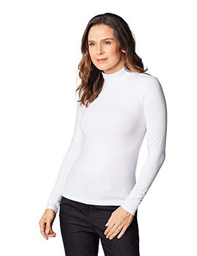 Camiseta Manga Longa, Hering, Feminino, Branco, XXG