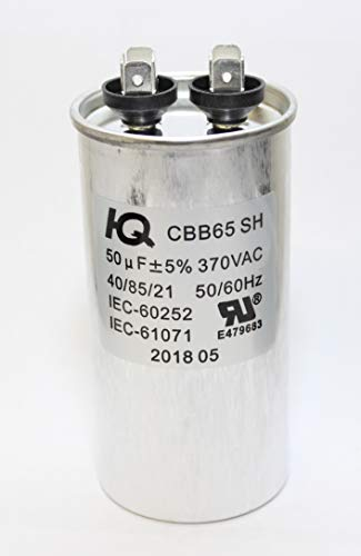 QX6550 Capacitor Motor Run Round 50 uF MFD 370 V VAC Volt HVAC