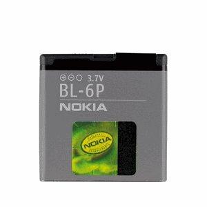 Nokia BL-6P–Akku/wiederaufladbar Akku (Lithium-Ionen, grau, Nokia 6500classic/7900Crystal Prism/7900Prism)