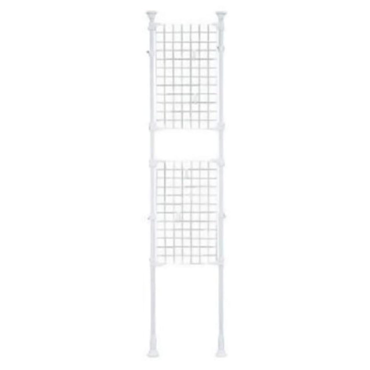 温かい申し立てる体現するアイリスオーヤマ パーテーション メッシュ 幅45×奥行7×高さ200~270cm ホワイト RP-420