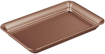 InterDesign iDesign Guest Towel Holder Tray for Bathroom (Bronze)