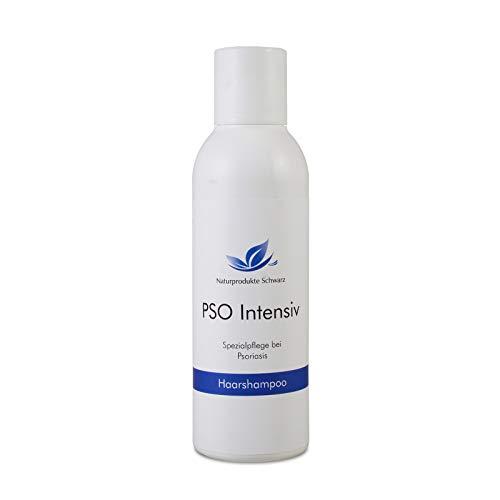Naturprodukte Schwarz - PSO Intensiv Haarshampoo - Spezialpflege bei Psoriasis, 150ml