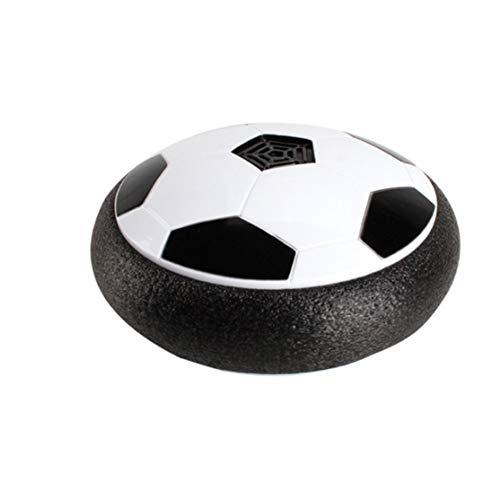 zhouweiwei Led Light Flashing Music Ball Spielzeug Elektrische Luftkissenaufhängung Fußball-Scheibe Hallenfußball schwebendes Segelflugzeug