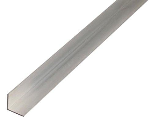 GAH-ALBERTS 473624 Winkelprofil-Aluminium, silberfarbig eloxiert, 1000 x 15 x 15 mm