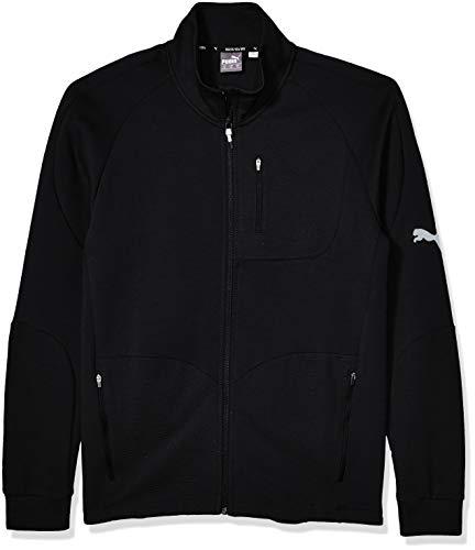 PUMA Men's EVOSTRIPE Jacket, Black, M