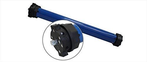 h Elektromechanischer Rolladenmotor (SW60 | 20 Nm | bis 45 kg) mit mechanischen Endabschaltern für 60 mm Achtkantwelle Rollladenantrieb Rohrmotor (1 ST)