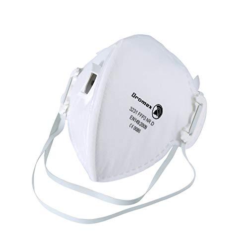 Dromex Masque Anti-Brouillard Anti-Virus Anti-Pollution N95,FFP3 Filtre 99% Masque de bactéries...