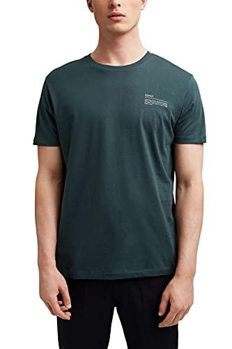 Esprit 041EE2K314 Camiseta, 455/TEAL Blue, XL para Hombre
