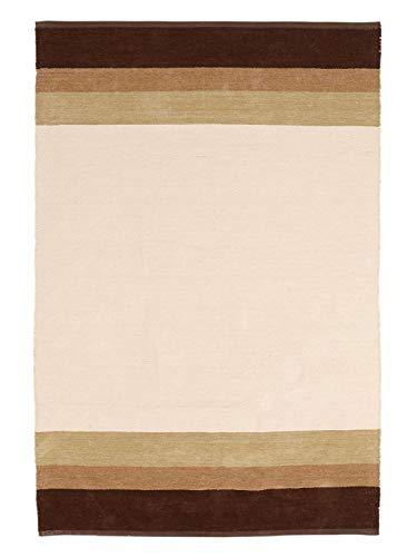 heine home handgewebter Teppich Flur Diele Wendemodell Natur ca. 60x90 cm