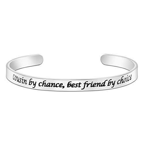 Joycuff Cousin Gifts Friendship Bracelet Gift...