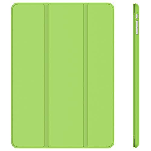 JETech Hülle Kompatibel iPad Mini 1 2 3, Schutzhülle mit Ständer Funktion & Auto Einschlafen/Aufwachen (Grün)