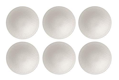 Villeroy & Boch - Manufacture Rock Weiß Schale, 6 Stück, 28,7 cm, Premium Porzellan, Weiß, 10-4240-2701-6