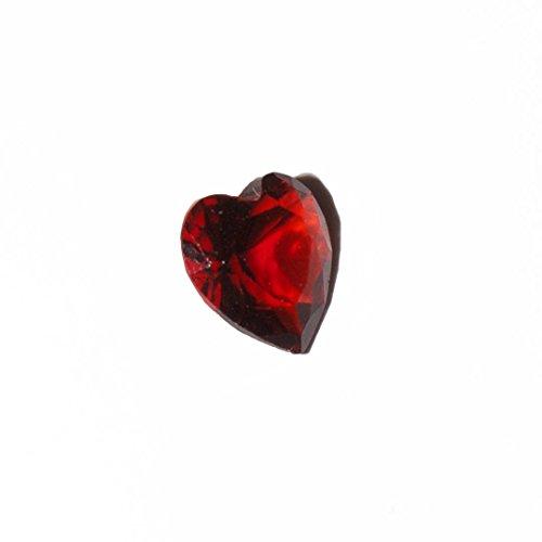 Corazón - enero de lado de 5 mm para estar encanto flotante de la memoria y las virutas de estilo Búho de Origami