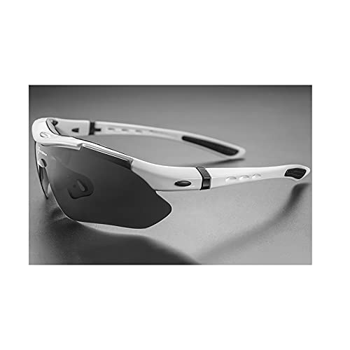 Gafas De Sol Polarizadas Deportivas para Hombre, Gafas De Ciclismo De Carretera, Gafas De Protección para Bicicleta De Montaña, Gafas De 5 Lentes,A3
