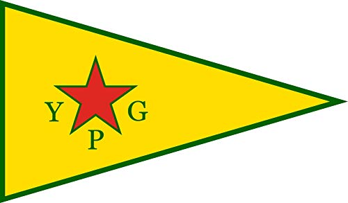 magFlags Flagge: XL People s Protection Units | People s Protection Units YPG ; Official Armed Wing of The Kurdish Supreme Committee | Querformat Fahne | 2.16m² | 120x180cm » Fahne 100%