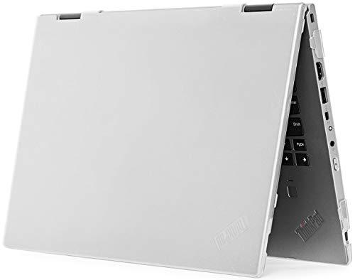 mCover Hartschalen-Schutzhülle für Lenovo ThinkPad X1 Yoga (4. / 5. Generation) 2020 14 Zoll (35,6 cm) (transparent)