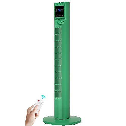 """YUN HAI Ventilador Torre De 44"""" Tranquilo 60° Ventilador Oscilante con Pantalla Remota, Digital, Configuración De Temporizador, Control Táctil Inteligente, Ventilador De Torre De Interior Portátil"""
