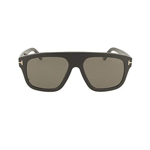 Tom Ford Gafas de Sol THOR FT 0777 Shiny Black/Grey 56/17/145 unisex