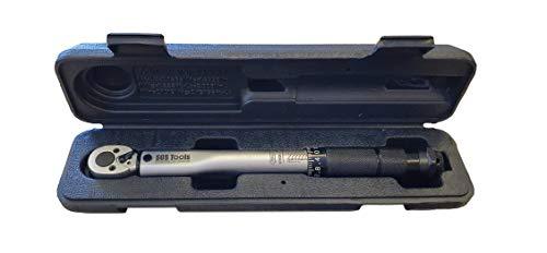 SOS Tools S1001-1/4 \'Vierkantantrieb Drehmomentschlüssel Mikrometer 2-24Nm / 18-212in. / Lb. Kalibrierzertifikat Ideal für Carbon Bikes, professionelle Mechanik