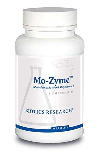 Biotics Research Mo-Zyme ™ – Molybdenum 50 mcg, Liver Support, Detoxification, Essential Trace Element, Healthy Metabolism, Antioxidant Support 100 Tablets