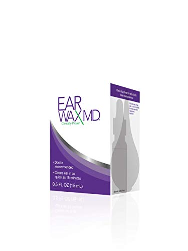 EARWAX REMOVAL DROPS: This doctor-recommended earwax removal cleaner dissolves earwax in as fast as 15 minutes. The gentle, dual-action formula targets oils in the outer ear canal and breaks up wax buildup like it's a bad date. Great for sensitive sk...