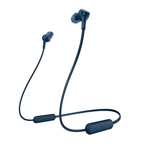 Sony WI-XB400 Extra Bass Kabellose In-Ear-Kopfhörer Blau (Generalüberholt)