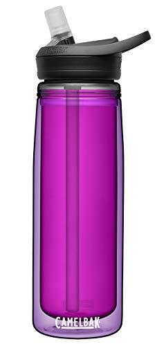 CamelBak Garrafa de água isolada sem BPA Eddy+, 590 ml, ametista