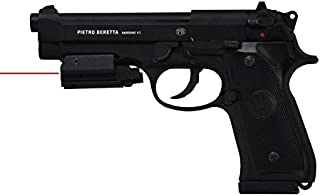 Beretta M92A1 Full Metal CO2 Blowback BB Pistol w/ Red L.A.S.E.R.