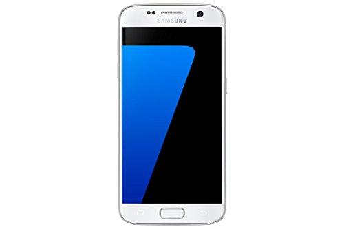Samsung Galaxy S7 Smartphone débloqué 4G (Ecran : 5,1 pouces - 32 Go - 4 Go RAM - Simple Nano-SIM - Android Marshmallow 6.0) Blanc