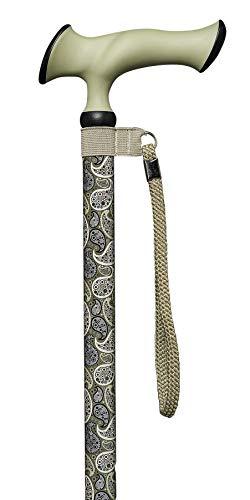 Gastrock Unisex– Erwachsene 40130-8 Walking-Stöcke, Oliv-Beige, One Size