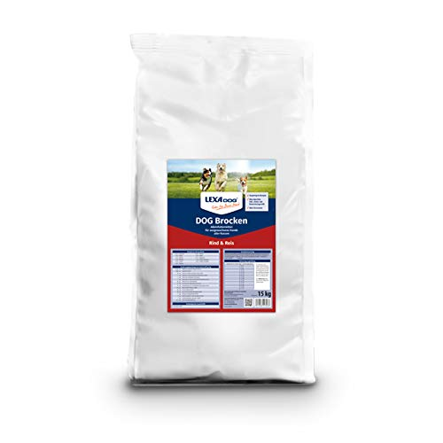 Lexa Dog® Brocken Rind & Reis 15 kg