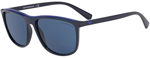 Emporio Armani 0Ea4109 Gafas de Sol, Dark Blue, 57 para Hombre