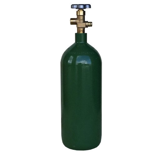 Steel Oxygen Cylinder with CGA540 Valve – 20 cu. ft.