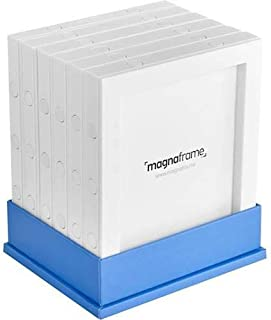 magnaframe magnético marco de fotos galería–Polaroid Originales–6unidades–blanco