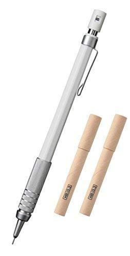 Muji Low Center of Gravity Mechanical Pencil [0.3mm] + MUJI Japan Mechanical Pencil Refill Leads [0.3mm - HB] 12pcs x 2 packs